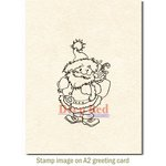Deep Red Stamps - Christmas - Cling Mounted Rubber Stamp - Julenissen