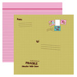 Dream Street Papers - Hugs -n- Kisses Collection by Natalie B. - 12x12 Double Sided Paper - Care Package, CLEARANCE