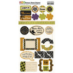 Dream Street Papers - Superstition Collection - Halloween - Die Cuts - Shapes, CLEARANCE
