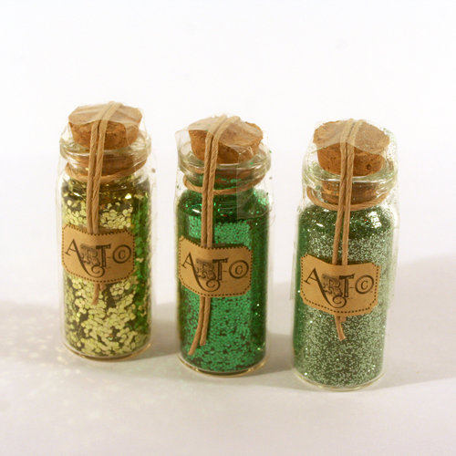 Deja Views - C-Thru - Art-C Collection - Glitter Mix Set - Green