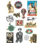Deja Views - C-Thru - Art-C Collection - Collage Elements - World Travel
