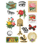 Deja Views - C-Thru - Art-C Collection - Collage Elements - Botanicals