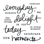 Clear Acrylic Stamps - Everyday by Little Yellow Bicycle