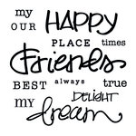 Clear Acrylic Stamps - My Happiness by Little Yellow Bicycle