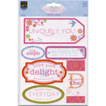 Deja Views - C-Thru - Little Yellow Bicycle - The Delightful Collection by Sharon Ann - Fabric Tags - Playful, CLEARANCE