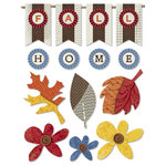 Little Yellow Bicycle - Feels Like Home Collection - Fabric Stickers - Favorites