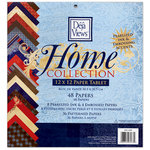 Deja Views - C-Thru - Home Collection - 12 x 12 Paper Tablet with Pearlized Ink and Embossed Accents, BRAND NEW