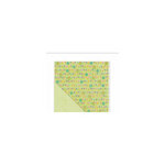 Deja Views - C-Thru - Little Yellow Bicycle - Hello Spring Collection - 12 x 12 Double Sided Textured Paper - Bloom and Grow
