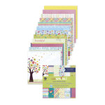 Deja Views - C-Thru - Little Yellow Bicycle - Hello Spring Collection - 6 x 6 Paper Pad