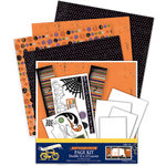 Deja Views - C-Thru - Little Yellow Bicycle - Frightful Collection - Halloween - Page Kit, CLEARANCE