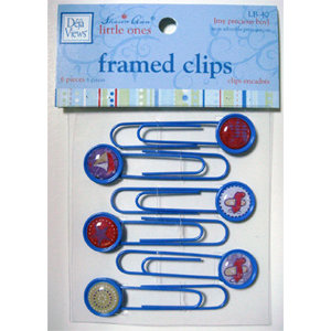 Deja Views - Sharon Ann Little Ones Collection - Boy - Framed Clips, CLEARANCE