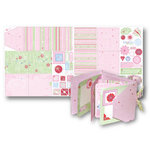 Deja Views - Sharon Ann Little Ones Collection - Girl - 12x24 Project Sheet - Gatefold Album, CLEARANCE