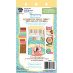Deja Views - C-Thru - Little Yellow Bicycle - Pregnancy Collection - Die Cut Paper Tablet - Pregnancy