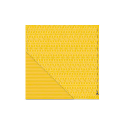 Little Yellow Bicycle - Makin' the Grade Collection - 12 x 12 Double Sided Paper - Cut Here