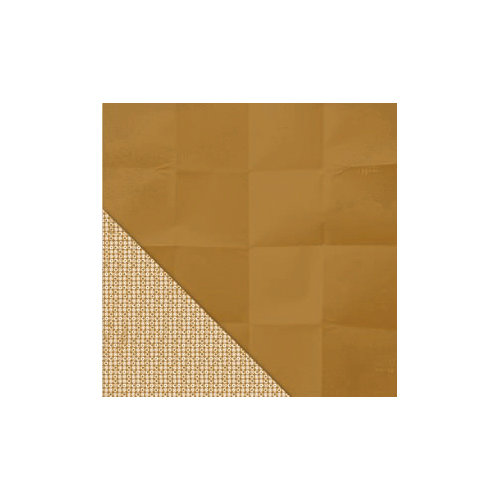 Little Yellow Bicycle - Makin' the Grade Collection - 12 x 12 Double Sided Paper - Brown Bag