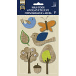 Naturals Collection - Burlap Stickers - Nature by Little Yellow Bicycle