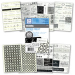 Deja Views - Sticker Tablet - 268 Adhesive Pieces - Wedding, CLEARANCE