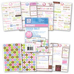 Deja Views - Sticker Tablet - 268 Adhesive Pieces - Pregnancy - Maternity, CLEARANCE