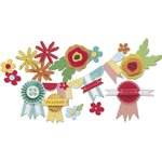 Little Yellow Bicycle - Poppy Collection - Paper Crafting Kit