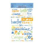 Deja Views - Wonderful Words Rub Ons - Fresh Print - Mango - A Summer Place, CLEARANCE