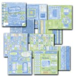 Deja Views Sharon Ann Collection Paper and Pieces Tablet - Baby Boy