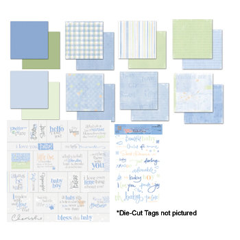 Deja Views - C-Thru - Sharon Ann Collection - Paper Packs  - Baby Boy