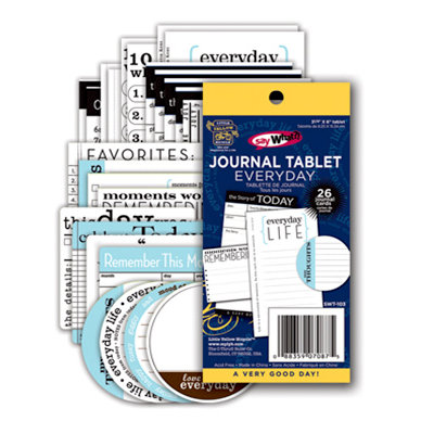 Deja Views - C-Thru - Little Yellow Bicycle - Say What Collection - Journal Tablet - Everyday, BRAND NEW