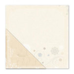 Little Yellow Bicycle - Winterings Collection - 12 x 12 Double Sided Paper - Fancy Flurry