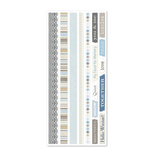Little Yellow Bicycle - Winterings Collection - Vellum Tape Strips