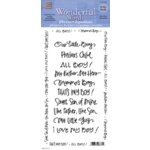 Deja Views Wonderful Words Phrases - For Sons, CLEARANCE