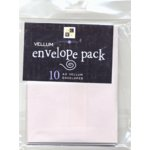Die Cuts With a View - Vellum Envelope Pack - A2, CLEARANCE