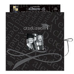 Die Cuts With a View - 8 x 8 Gift Album - Printed - Graduation, CLEARANCE