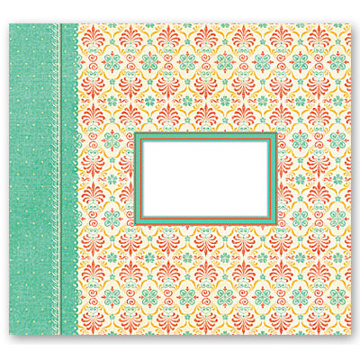Die Cuts with a View - Mango Frost Collection - 12 x 12 Postbound Album