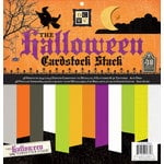 Die Cuts with a View - Halloween Collection - Glitter Metallic and Textured Solid Cardstock Stack - 12 x 12