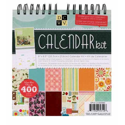 Die Cuts with a View - Calendar Kit