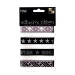 Die Cuts with a View - Rock Star Collection - Self-Adhesive Ribbon - Punk, CLEARANCE