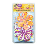 Die Cuts with a View - Pocket Full of Posies - Textured Cardstock Embellishments, CLEARANCE