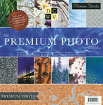 Die Cuts with a View - The Premium Photo Stack - Foil Glitter and Gloss Paper Stack - 12 x 12