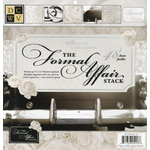 Die Cuts with a View - The Formal Affair Collection - Foil Paper Stack - 12 x 12