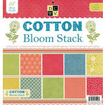 Die Cuts with a View - Cotton Bloom Collection - Glitter Paper Stack - 12 x 12