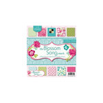 Die Cuts with a View - Blossom Song Collection - Glitter Paper Stack - 12 x 12