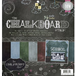 Die Cuts with a View - The Chalkboard Collection - Paper Stack - 12 x 12