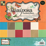 Die Cuts with a View - The Mariposa Collection - Glitter and Metallic Solid Cardstock Stack - 12 x 12