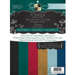 Die Cuts with a View - All Chalked Up Collection - Paper Stack - 8.5 x 11