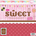 Die Cuts With A View - Sweet Collection - 12 x 12 Paper Stack - The Sweet Stack