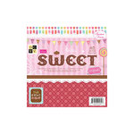 Die Cuts With A View - Sweet Collection - 8 x 8 Paper Stack - The Sweet Stack, CLEARANCE
