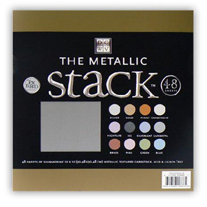Die Cuts with a View - Metallic Stack - Cardstock
