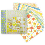 Die Cuts with a View - Citrus Collection - 12 x 12 Scrapbook Album and Box Kit