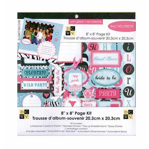 Die Cuts with a View - 8 x 8 Page Kit - Bachelorette
