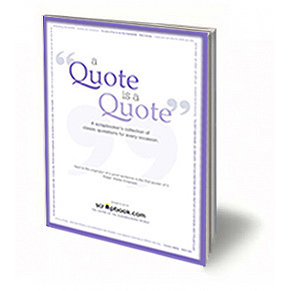 A Quote Is A Quote (E-Book) - Scrapbooking Quotes